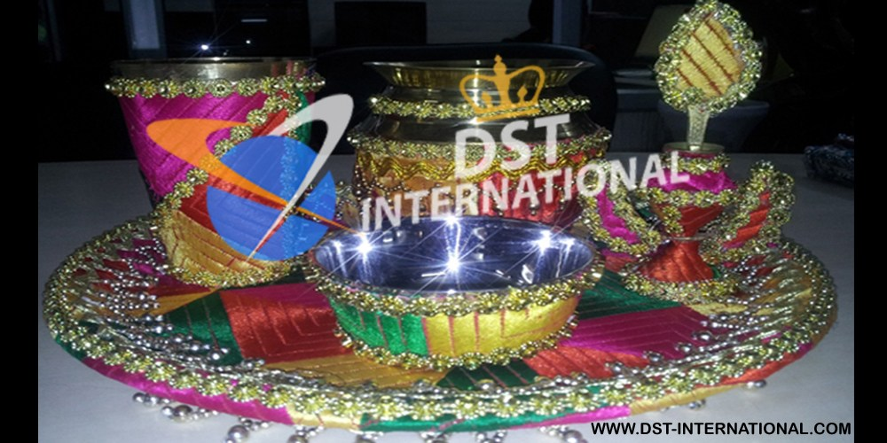 Punjabi wedding phulkari decoration accessory dst international handicraft phulkari decoration accessories punjabi wedding phulkari decoration accessories junglespirit Images