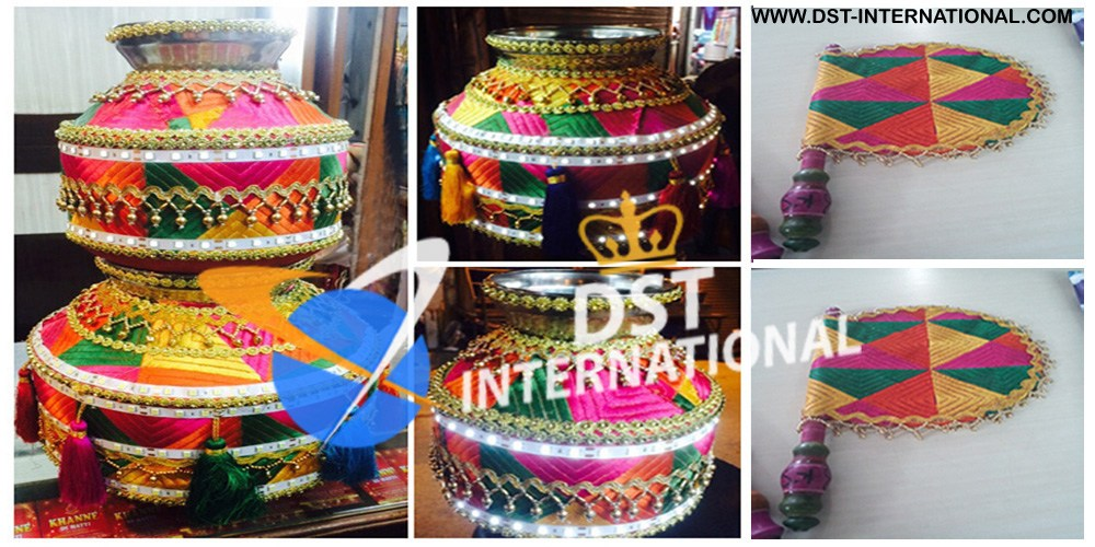 Punjabi wedding phulkari decoration accessory dst international phulkari decorated led lighted jago punjabi wedding phulkari decoration accessories junglespirit
