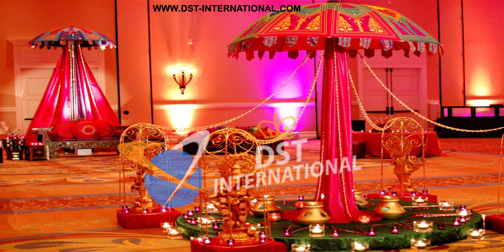 Indian wedding decorations dst international for International theme decor
