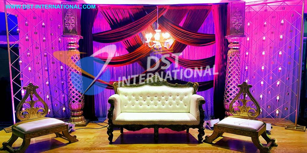 Sikh Wedding Stage Decoration Dst International