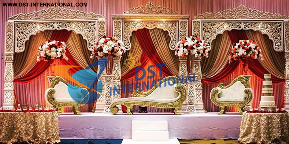 South Indian Wedding Stage Dst International