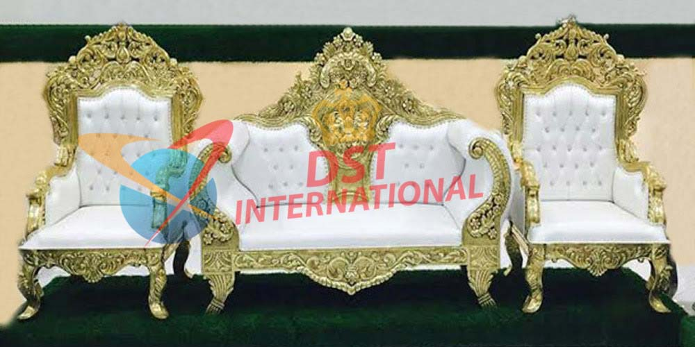 Hand Carving Maharaja Sofa Set Dst International