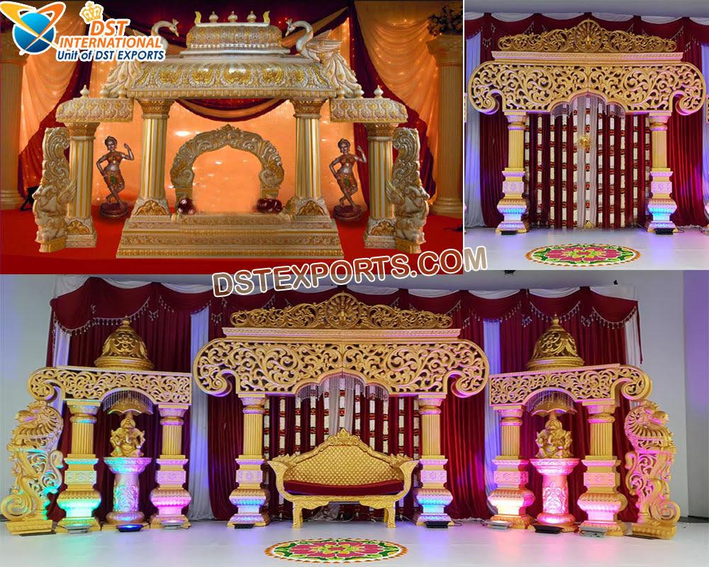 Tamil Wedding Manavarai Mandap/Stage Decoration - DST International