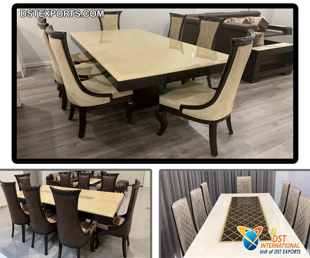 Elegance Style Dining Table Chairs Set Dst International