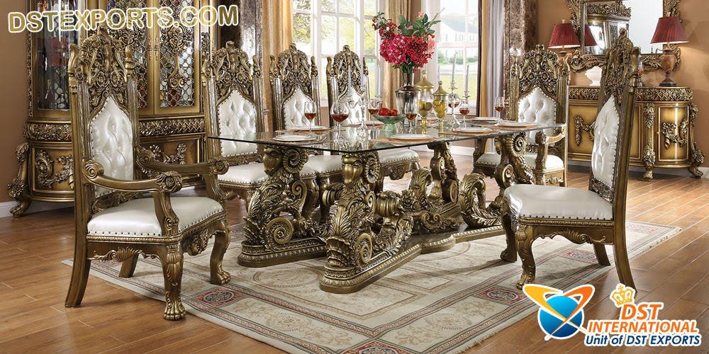 Vintage Look Dining Room Furniture Set Dst International